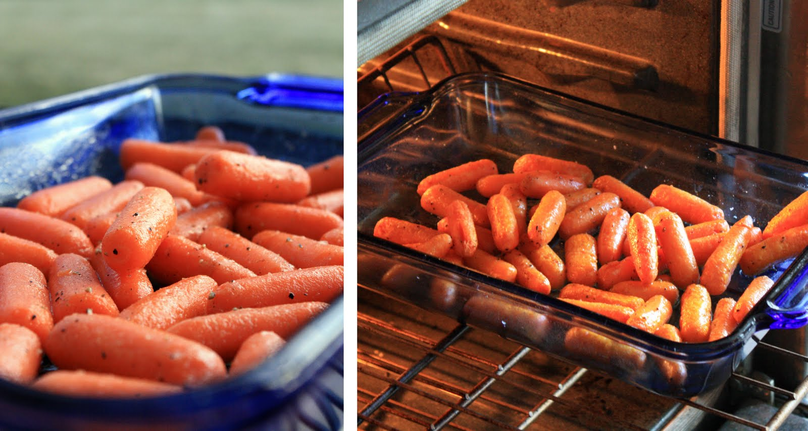 how to cook baby carrots oven