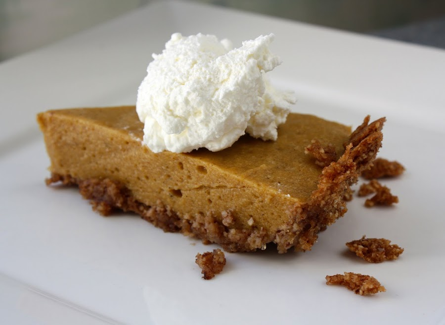 Bill's Chiffon Pumpkin Pie - Primal Palate | Paleo Recipes