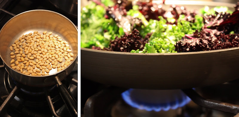 Sauteed Kale with Toasted Pine Nuts - Primal Palate | Paleo Recipes