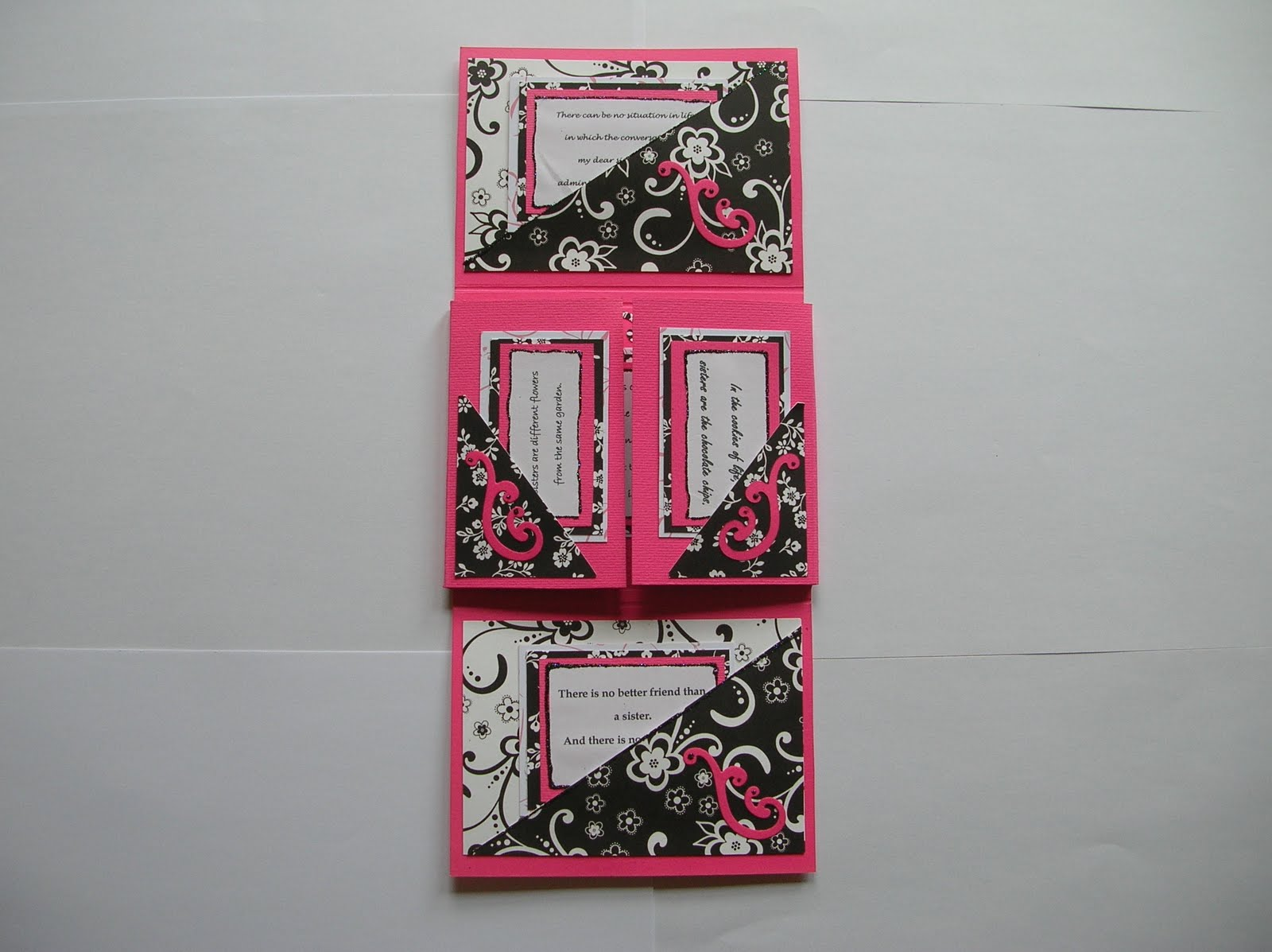 Sues art of craft birthday card with a difference birthday card with a difference bookmarktalkfo Images