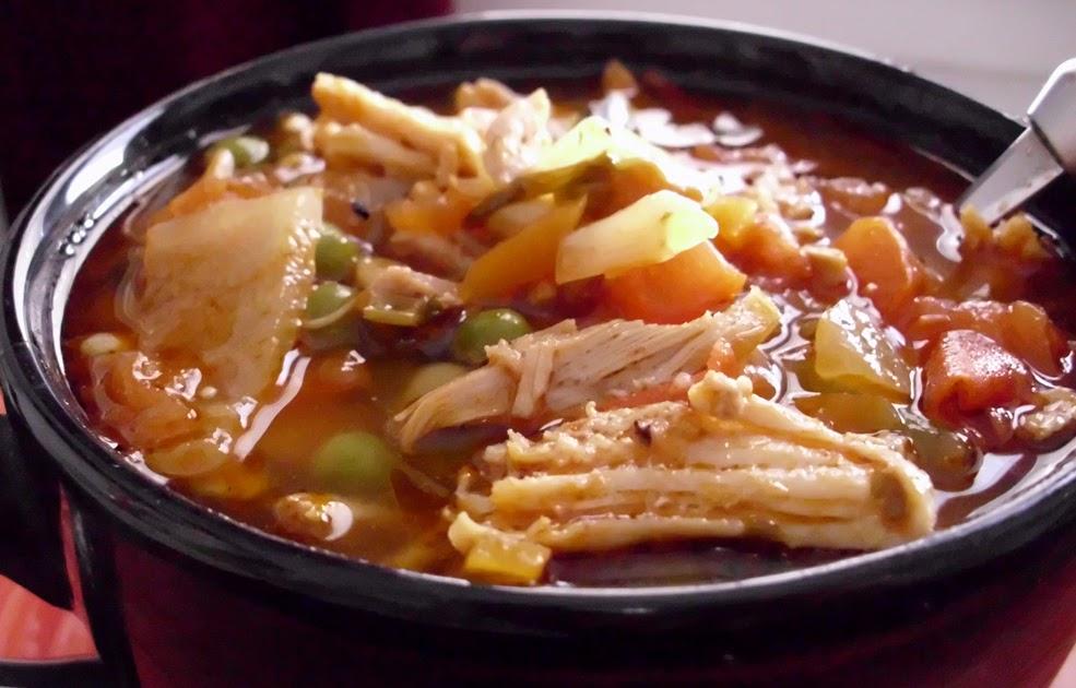 Recipe: Spicy Turkey & Chipotle Pepper Soup
