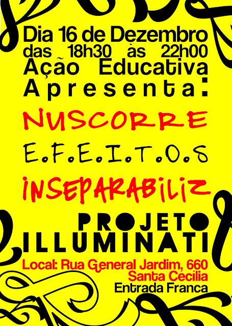 Projeto Iluminati faz Show no Açao Educativa