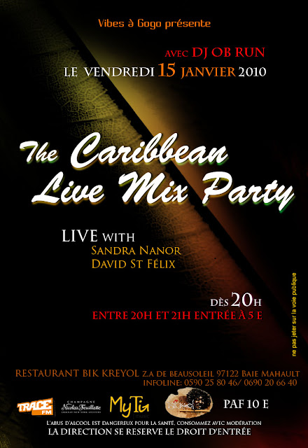 Restaurant Bik Kreyol: The Caribbean Live Mix Party