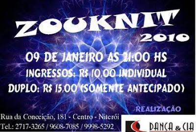 Danca & Cia apresenta Zouknit 2010 - Niteroi
