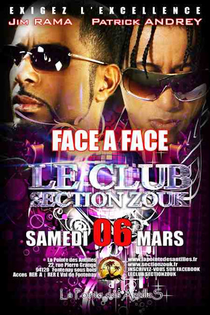 Face a Face - Le Club Section Zouk