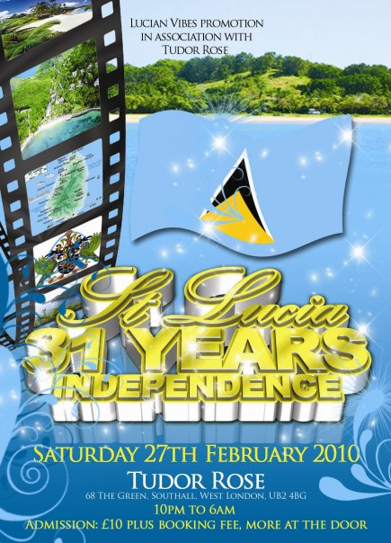 St Lucia Independence Day Celebrations