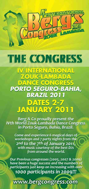 International Zouk-Lambada Dance Congress - Porto Seguro Brazil