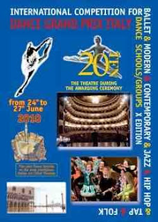 International Dance Competition in Italy June 2010, register your participation today!!
