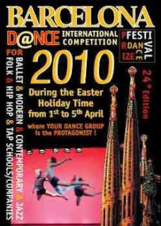 Dance Grand Prix Season 2010 - Barcelona, Spain. Ballet & Modern, Contemporary, Jazz, FOlk, HIp Hop, Tap Schools / Companies - Dance Festival during the easter break