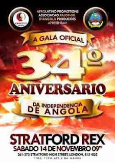 Stratford Rex - London Angolan Party - Tickets and info 07958280053