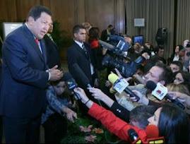 HUGO CHAVEZ EN DECLARACIONES A LA PRENSA