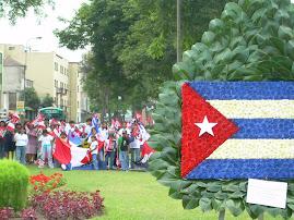 EL PUEBLO PERUANO CON CUBA