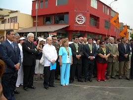 EMBAJADORES DE VENEZUELA Y BOLIVIA PRESENTES EN HOMENAJE A LIBERTADOR CUBANO
