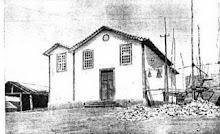 Primeira igreja da vila de Cambuquira.