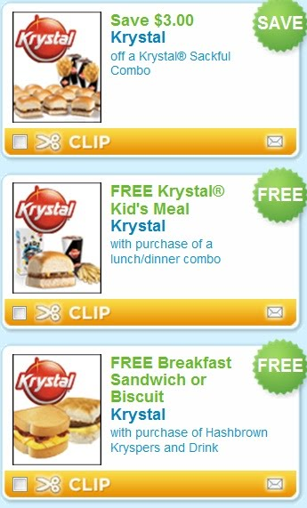 krystal free kids meal and other free printable coupons good at krystal