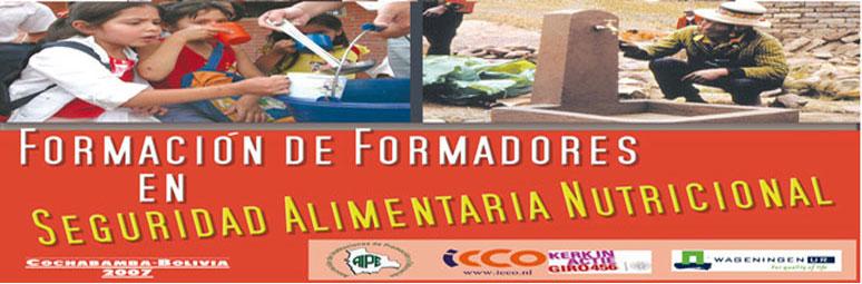 Formación de formadores en Seguridad Alimentaria Nutricional