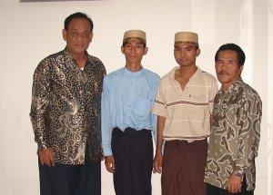 pelepasan bea siswa myanmar ke indonesia 2006