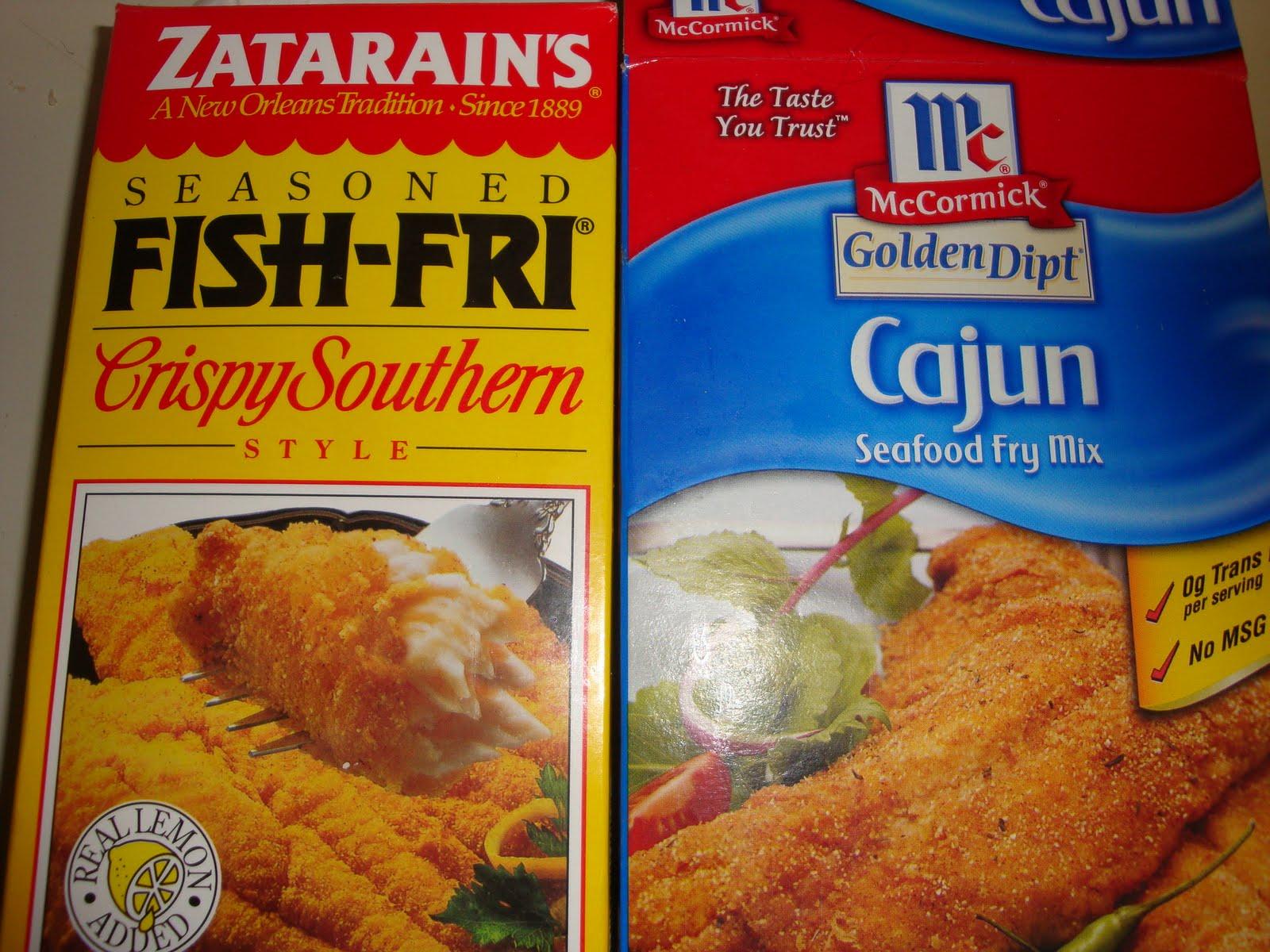 Mummy 39 s cookbook breaded fish fillets for Fish seasoning recipe