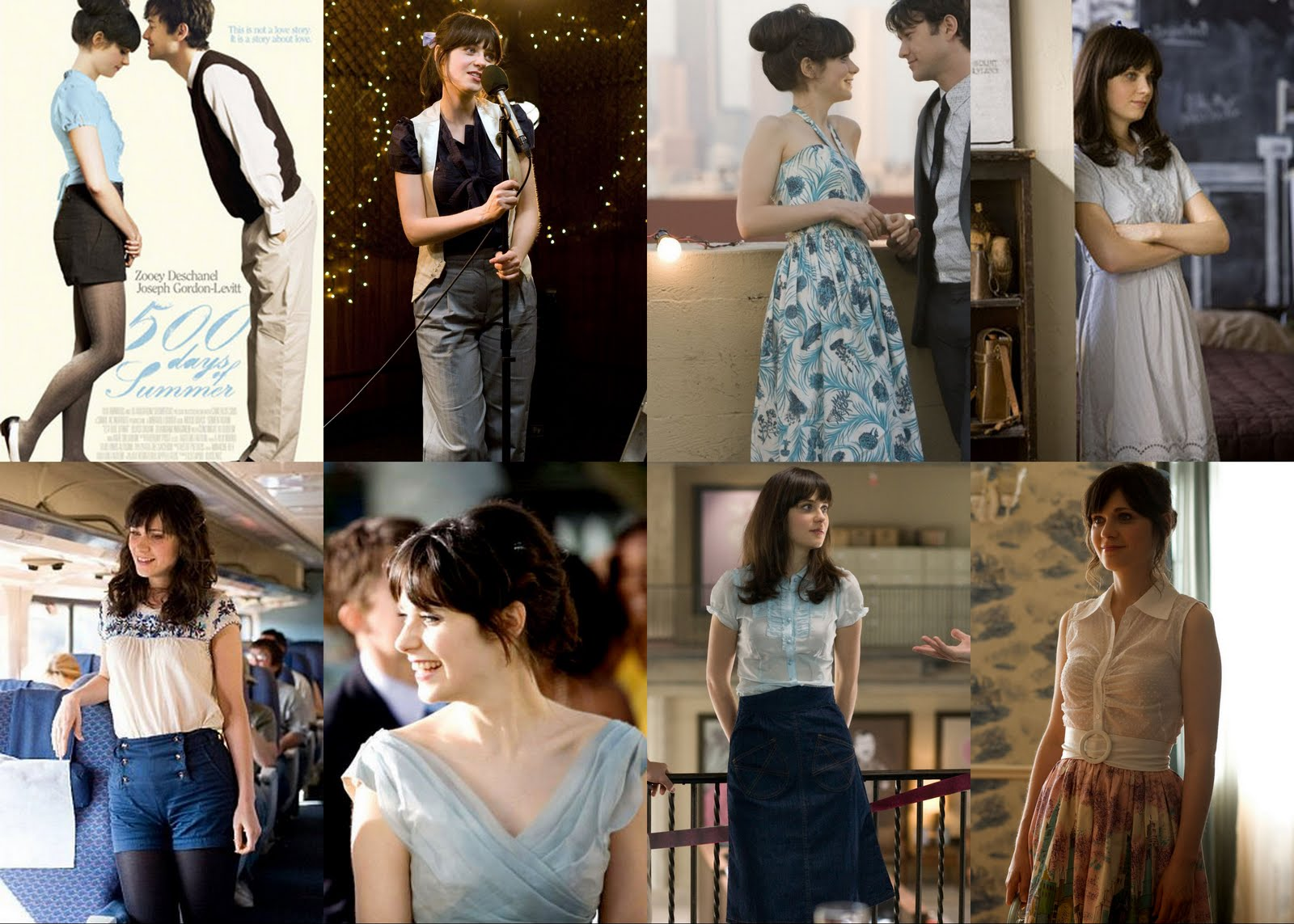Zooey Deschanel Clothes in 500 Days of Summer