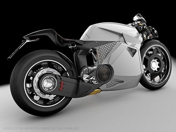 Innovative Electrical Motorcycle from Paolo De Giusti 5