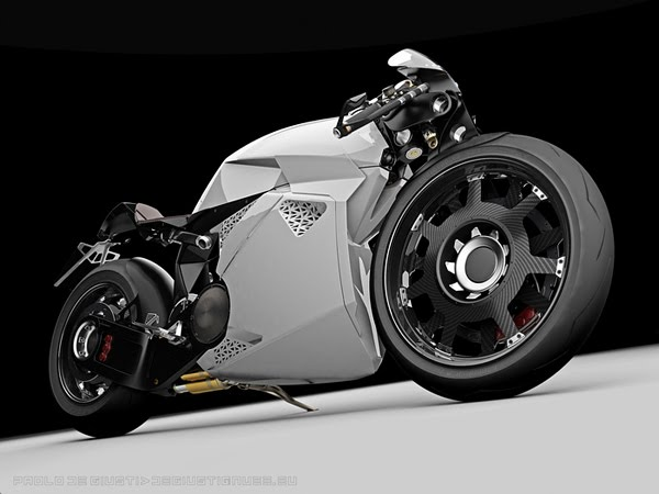 Innovative Electrical Motorcycle from Paolo De Giusti 4