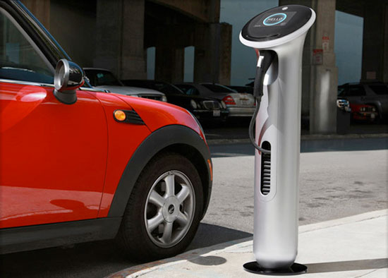 Electric Cars Charger Station