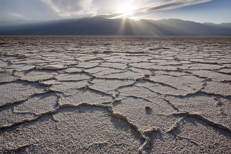 Death Valley, USA - Salt and the Sun