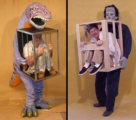Manina Cage Costume   halloween costumes pics