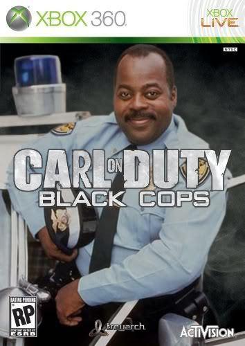 Carl on Duty - Black Cops - Carl Winslow
