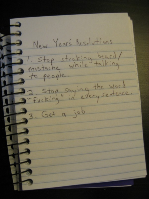funny new year resolutions. The Most Bizzare New Year#39;s