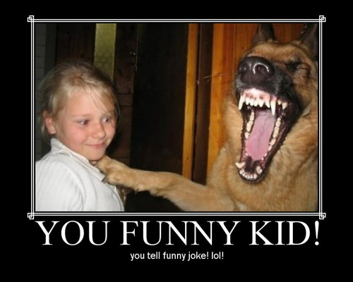 You Funny Kid! Tell Funny Joke lol