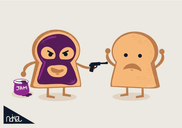 The Mask Jam Bread Tees