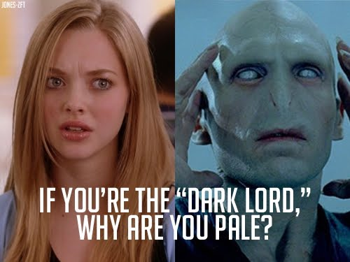 If You Are The Dark Lord Why Are You Pale?