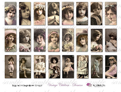 vintage children images free. 080 Vintage Children - Domino