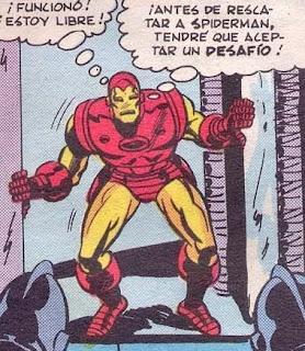 Iron man y su armadura a transistores