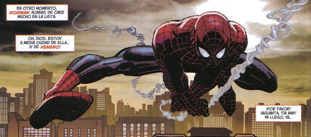Spiderman al rescate de tia May