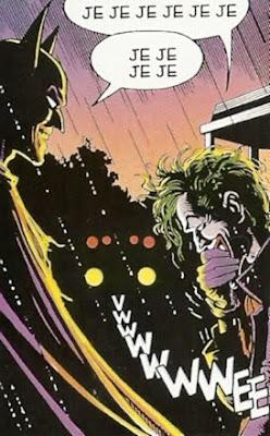 Batman & Joker echando unas risas tras molerse a palos