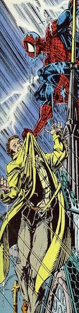 Spiderman metiendo presión