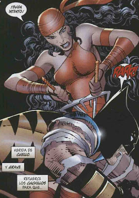 Wolverine entre agujas