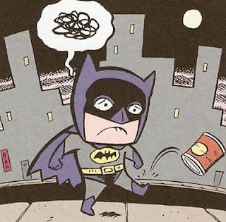 Batman enfadado con el mundo