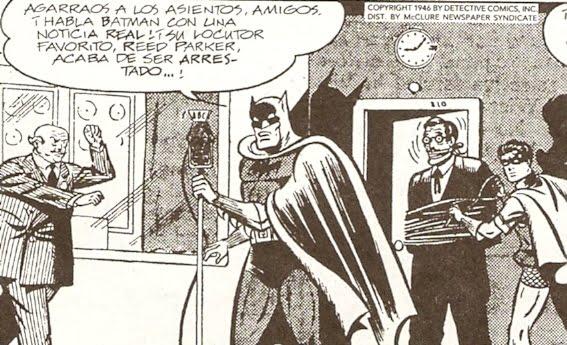 Batman en las ondas