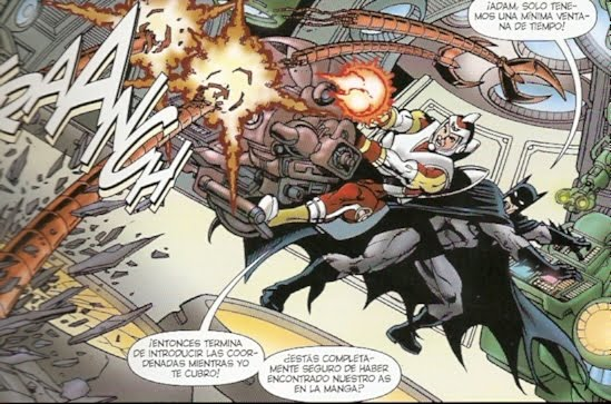 Batman & Adam Strange apurados de tiempo