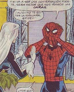 Gata Negra está enamorada de Spiderman, pero esto ya son demasiadas confianzas