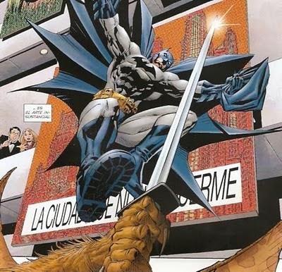 Batman viviendo en el filo
