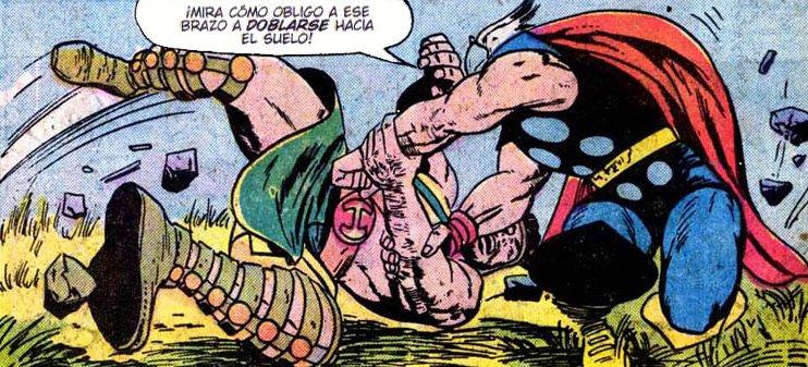 Asgard contra el Olimpo