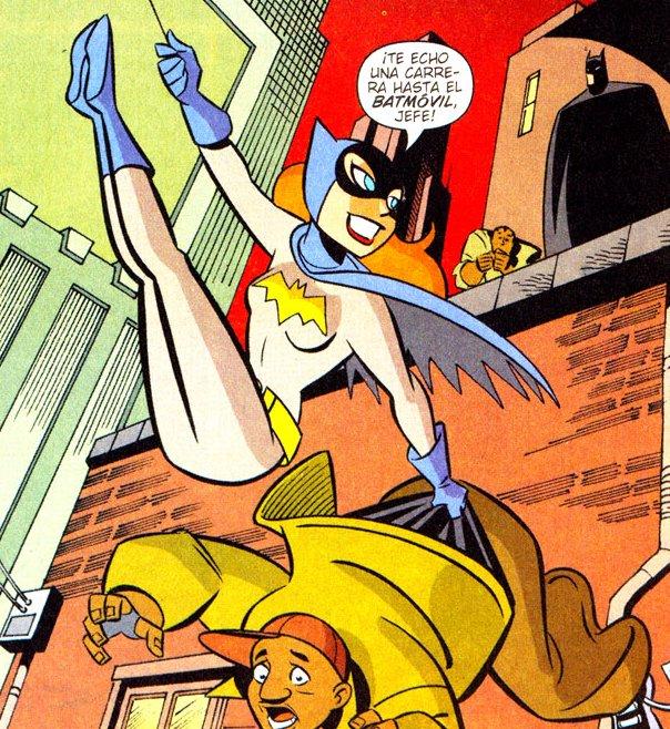 Batgirl & Batman