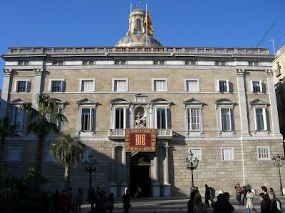 Palau de la Generalitat in Barcelona