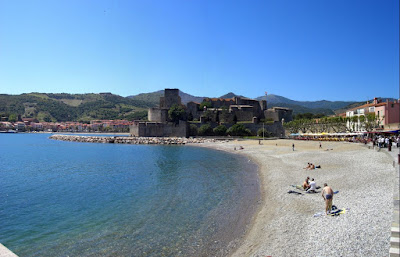 Royal Castle and beach of Collioure
