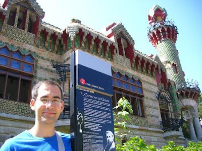 El Capricho de Gaudí in Comillas