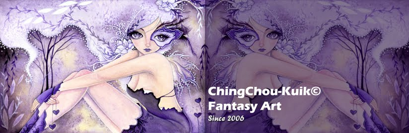 Fantasy art by ching-chou kuik